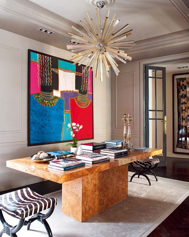Luxury House In Madrid With A Contemporary Art Collection Cool Modern Luxury Homes Interior Design Collection