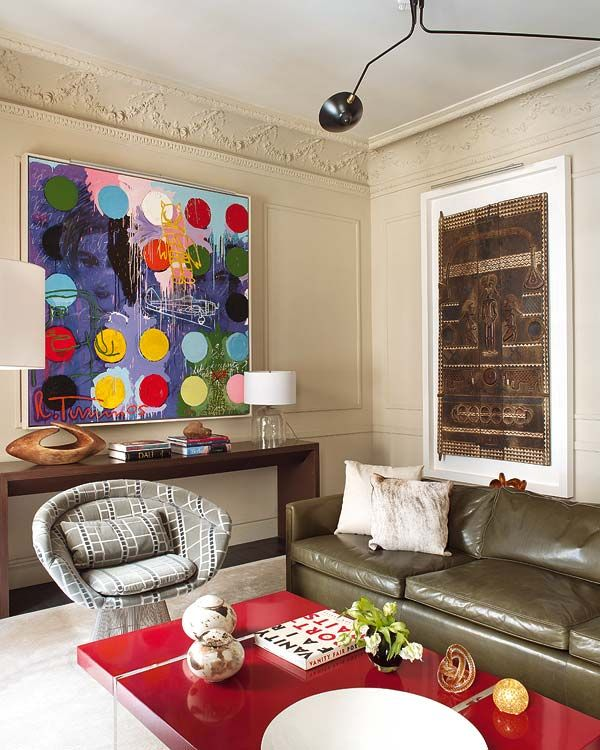 luxury house Luxury House in Madrid With a Contemporary Art Collection Luxury House in Madrid With a Contemporary Art Collection 2