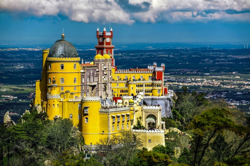 architecture Ultimate Guide to Touring the World's Best Architecture  Pal  cio Nacional da Pena