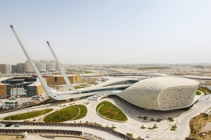 architecture Ultimate Guide to Touring the World's Best Architecture  Qatar Faculty of Islamic Studies