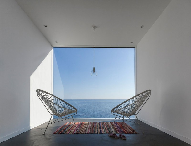 SUNFLOWER HOUSE, modern house, architecture studio, residence, design project, panoramic view, solar collector sunflower house Sunflower House by Cadaval & Solà-Morales Sunflower House by Cadaval Sol   Morales 6