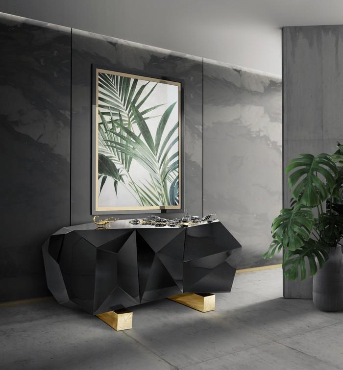 tropical prints Interior Design Trends 2018: Tropical Prints pinterest inspirations 5