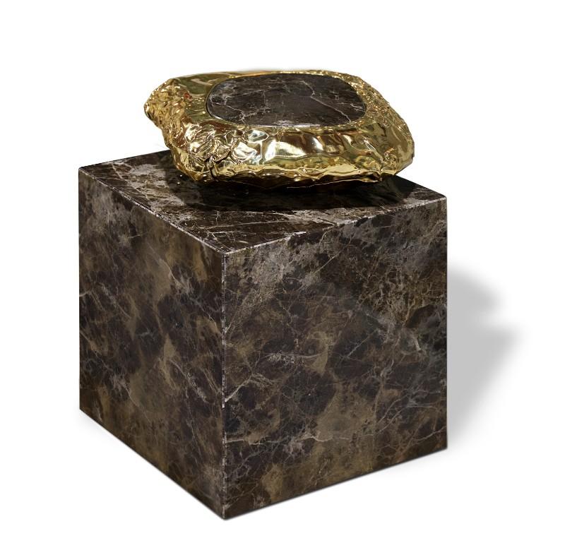 luxury furniture Luxury Furniture: Stonehenge Series by Boca do Lobo stonehenge side table boca do lobo HR