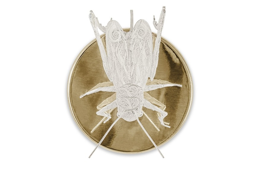 filigree Legacy The Design and Craftsmanship Testimony: Filigree Jewelry Filigree Cricket Wall Lamp by Boca do Lobo  3 1