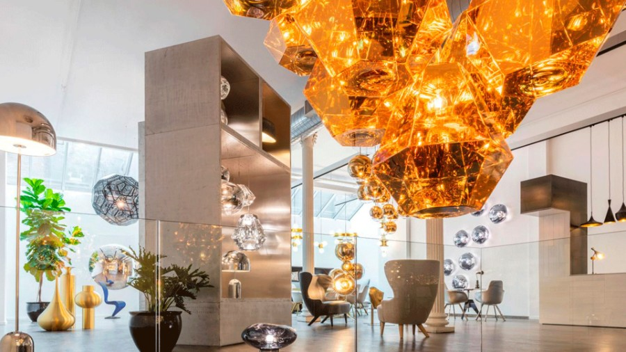 tom dixon Inside Tom Dixon's Showroom Space in New York Inside Tom Dixon   s New Showroom Space in New York 1
