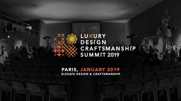Luxury Design Highlights Of The Luxury Design & Craftsmanship Summit 2018 Luxury summit paris 2019