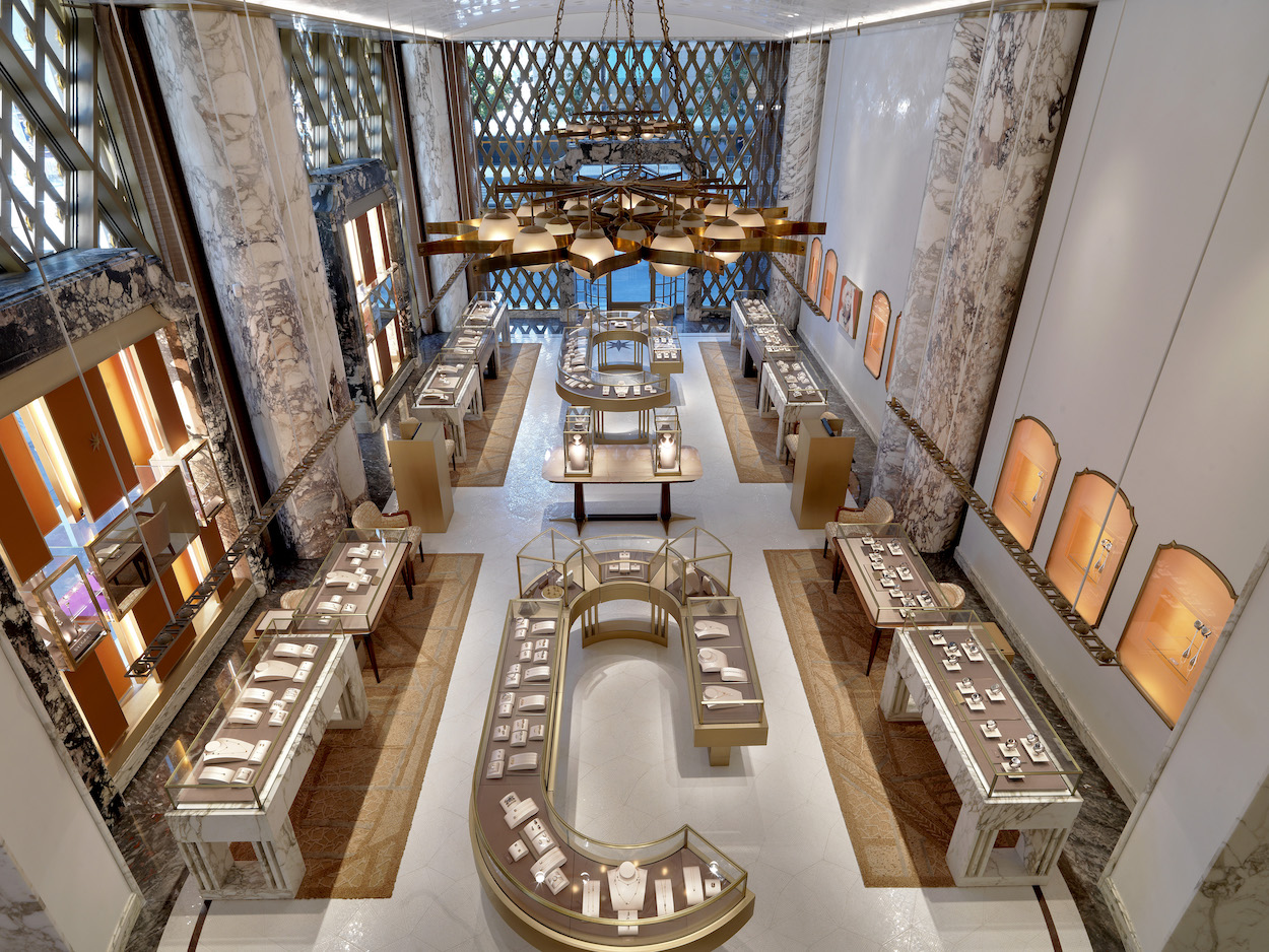 peter marino Peter Marino Renovates Bulgari's Flagship in New York Peter Marino Renovates Bulgari New York 1