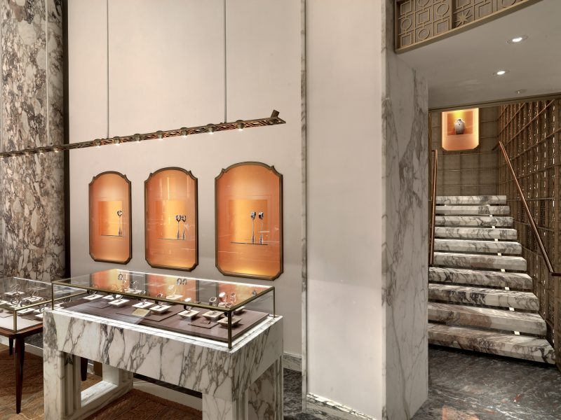 peter marino Peter Marino Renovates Bulgari's Flagship in New York Peter Marino Renovates Bulgari New York 2
