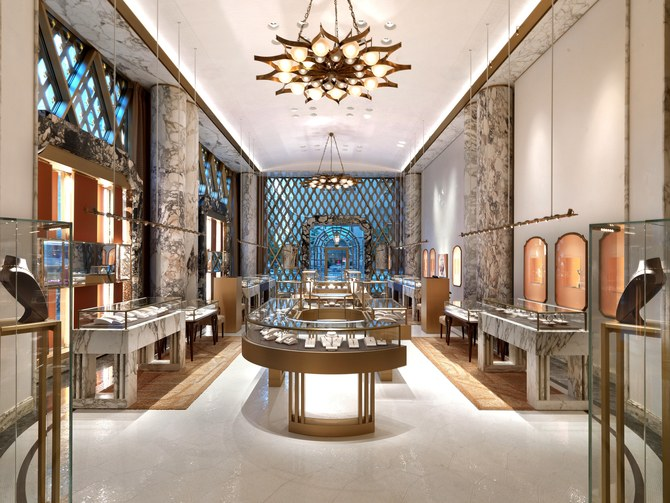 peter marino, Bulgari, architect, luxury jewelry, bvlgari, Italian design, Carlo Scarpa, jewelry cases, Angelo Mangiarotti, Gio Ponti, bronze, design, peter marino Peter Marino Renovates Bulgari's Flagship in New York Peter Marino Renovates Bulgari New York 3