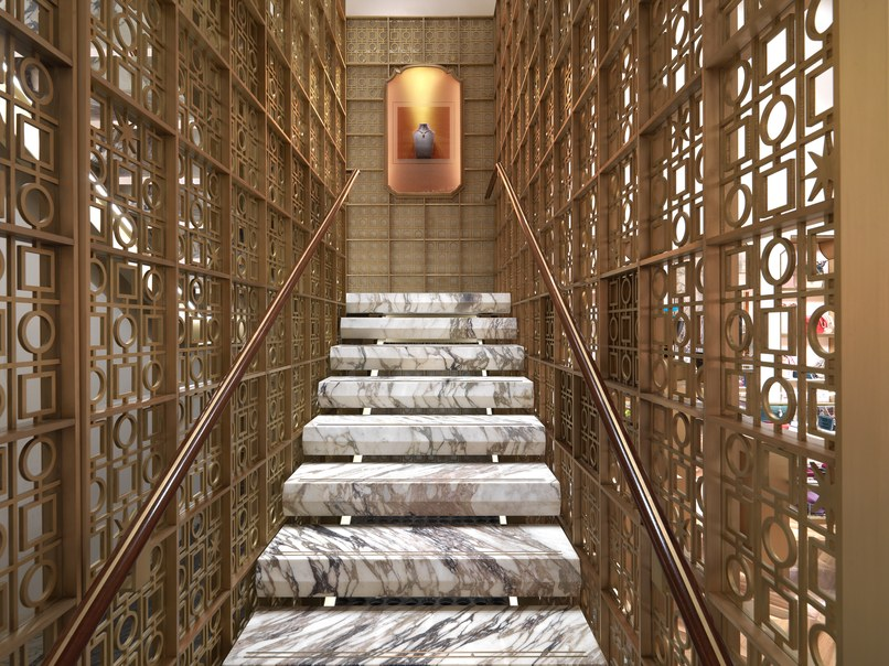 peter marino Peter Marino Renovates Bulgari's Flagship in New York Peter Marino Renovates Bulgari New York 6