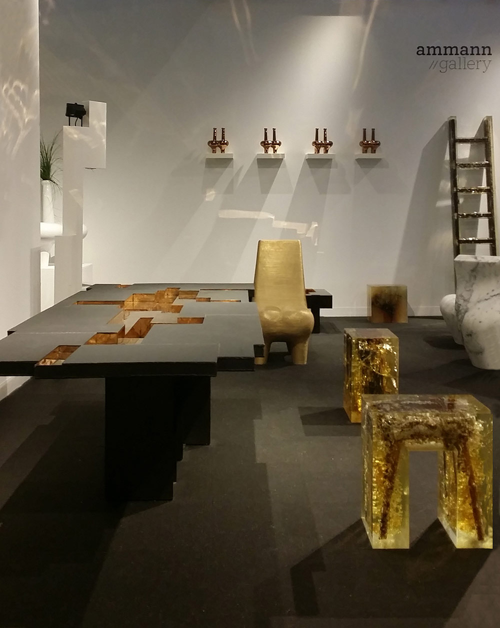 art basel, design miami, design, collectors, gallerists, designers, curators, design galleries, contemporary design, design event, carpenters workshop gallery, design miami Design Miami/ Basel 2018: The Best Design Galleries ammann gallery