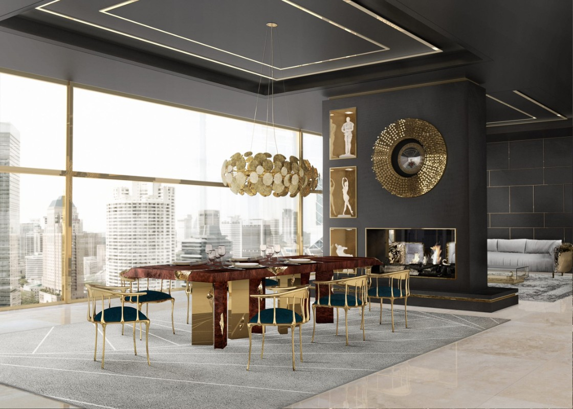 luxury furniture Discover Boca do Lobo's Luxury Furniture: Newton Family newton chandelier