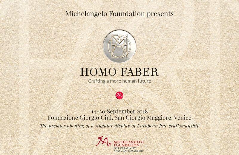 Homo Faber Homo Faber Is Boosting European Craftsmanship Homo Faber Is a Unique Venice Event that Boosts European Craftsmanship 1 800x520