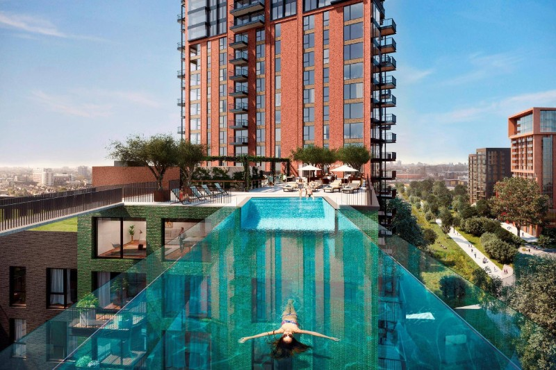 Swimming Pools, Rooftop, Architects, Designers, Hotel, Residential,  Ensamble Studio,