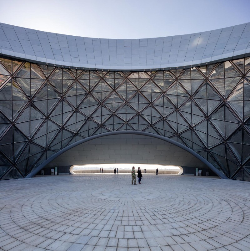 Harbin Opera House The Sculptural Design of the Harbin Opera House by MAD Architects  The Sculptural Design of the Harbin Opera House by MAD Architects 13