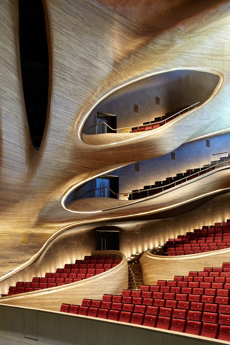 Harbin Opera House The Sculptural Design of the Harbin Opera House by MAD Architects  The Sculptural Design of the Harbin Opera House by MAD Architects 26