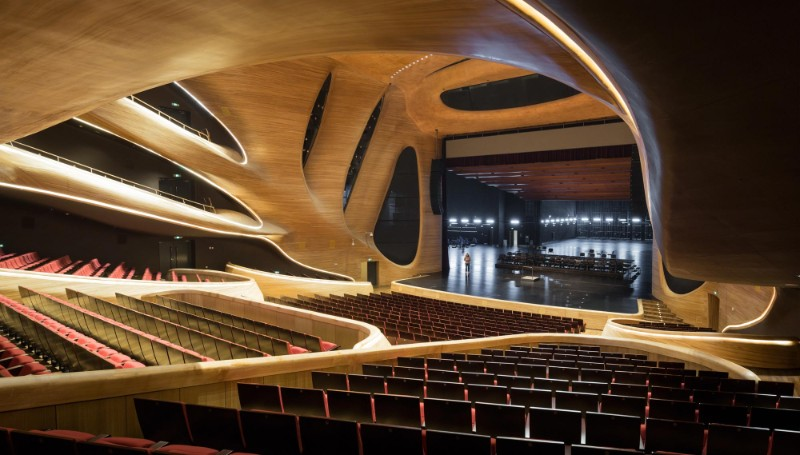Harbin Opera House The Sculptural Design of the Harbin Opera House by MAD Architects  The Sculptural Design of the Harbin Opera House by MAD Architects 27