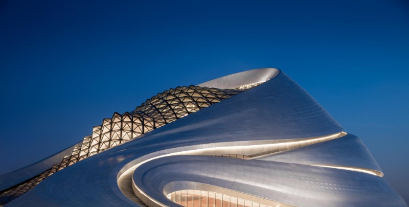 Harbin Opera House The Sculptural Design of the Harbin Opera House by MAD Architects  The Sculptural Design of the Harbin Opera House by MAD Architects 8
