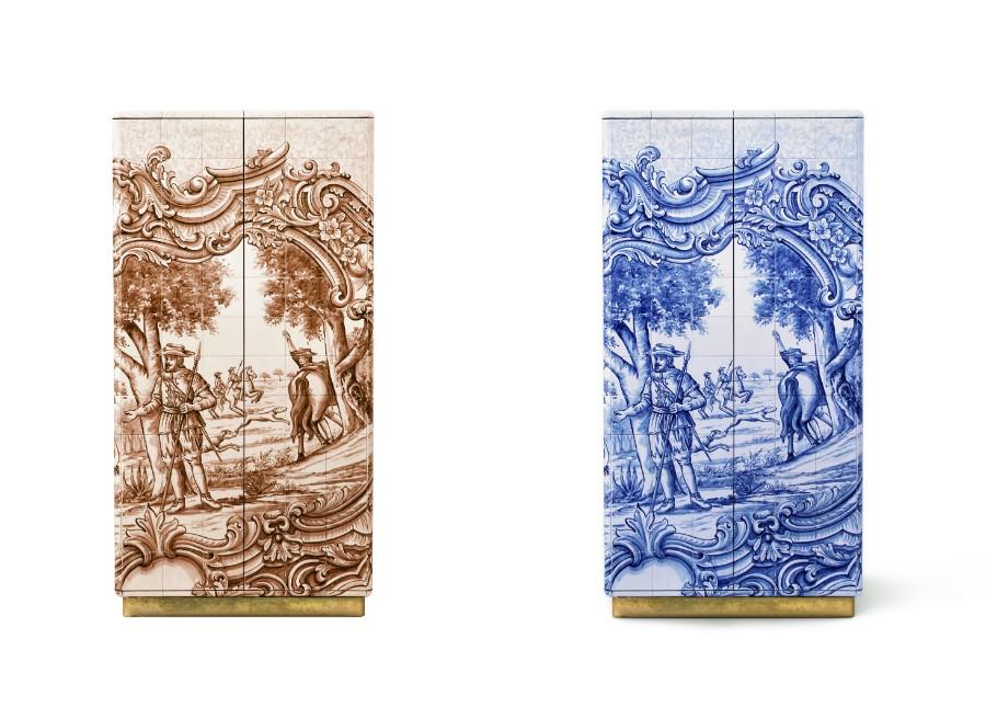 tiles The Art of Hand-Painted Tiles Behind Boca do Lobo's Luxury Furniture heritage sepia 01 horz