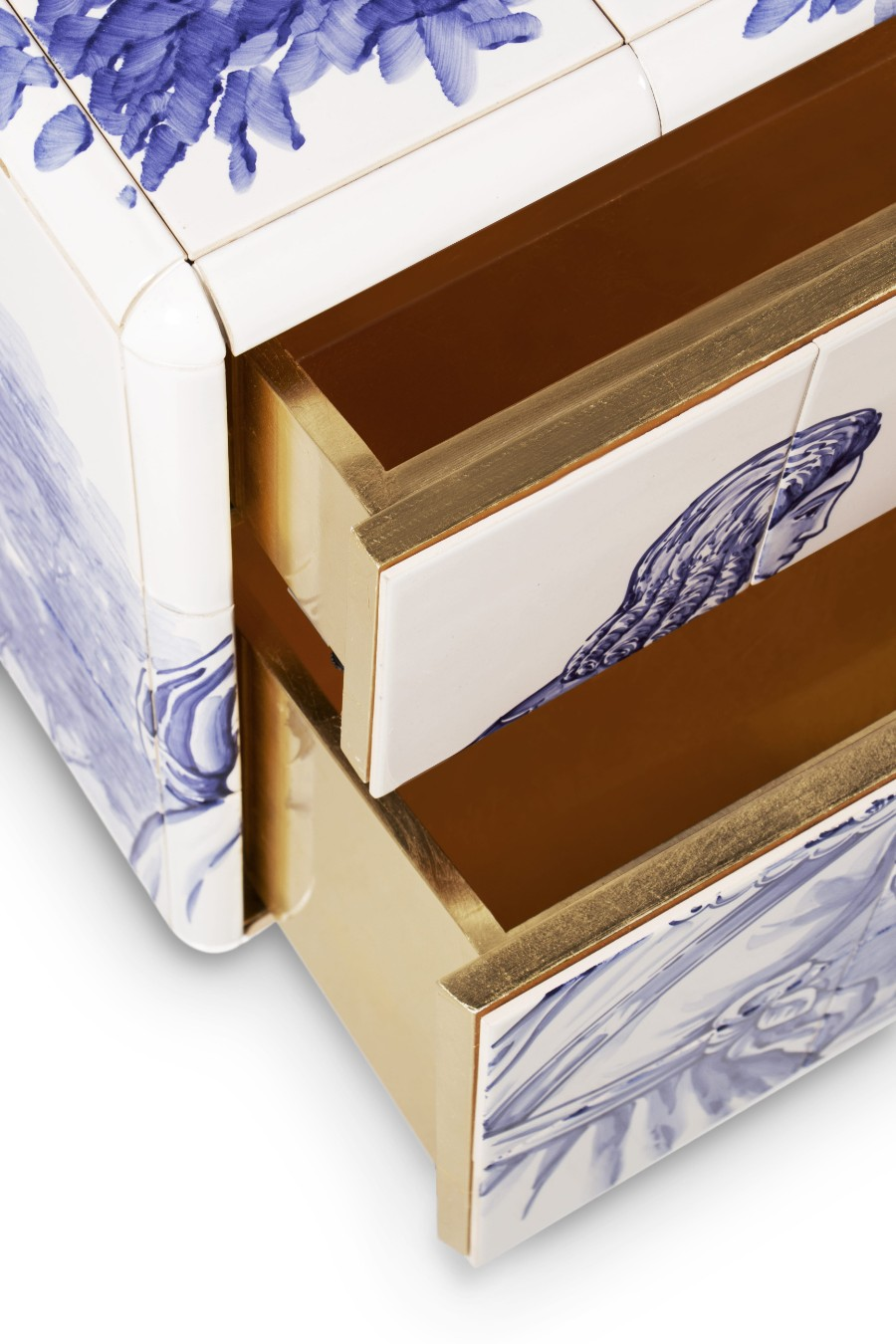 tiles The Art of Hand-Painted Tiles Behind Boca do Lobo's Luxury Furniture heritage small nightstand 07 HR
