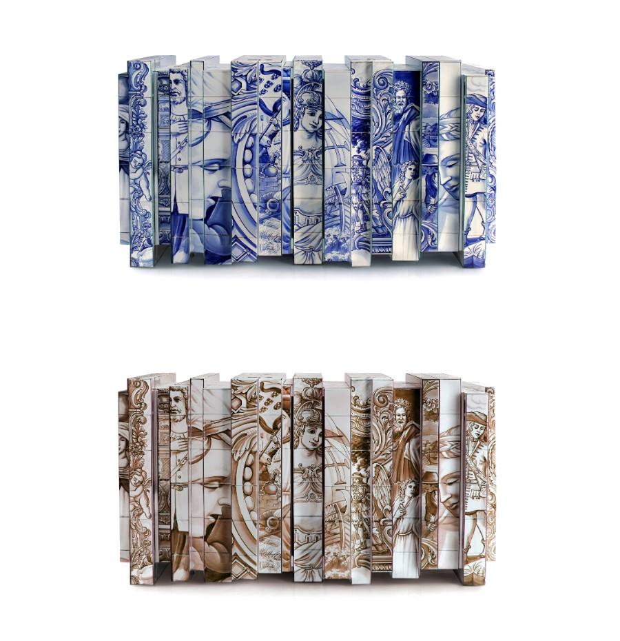 tiles The Art of Hand-Painted Tiles Behind Boca do Lobo's Luxury Furniture heritage sideboard 01 vert