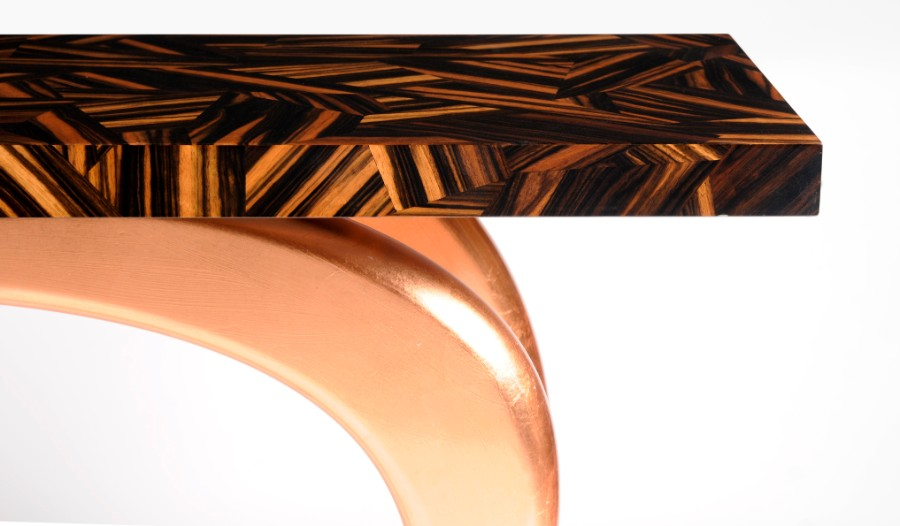 Luxury Furniture The Art of Leaf Gilding Behind Boca do Lobo's Luxury Furniture infinity by boca do lobo 1