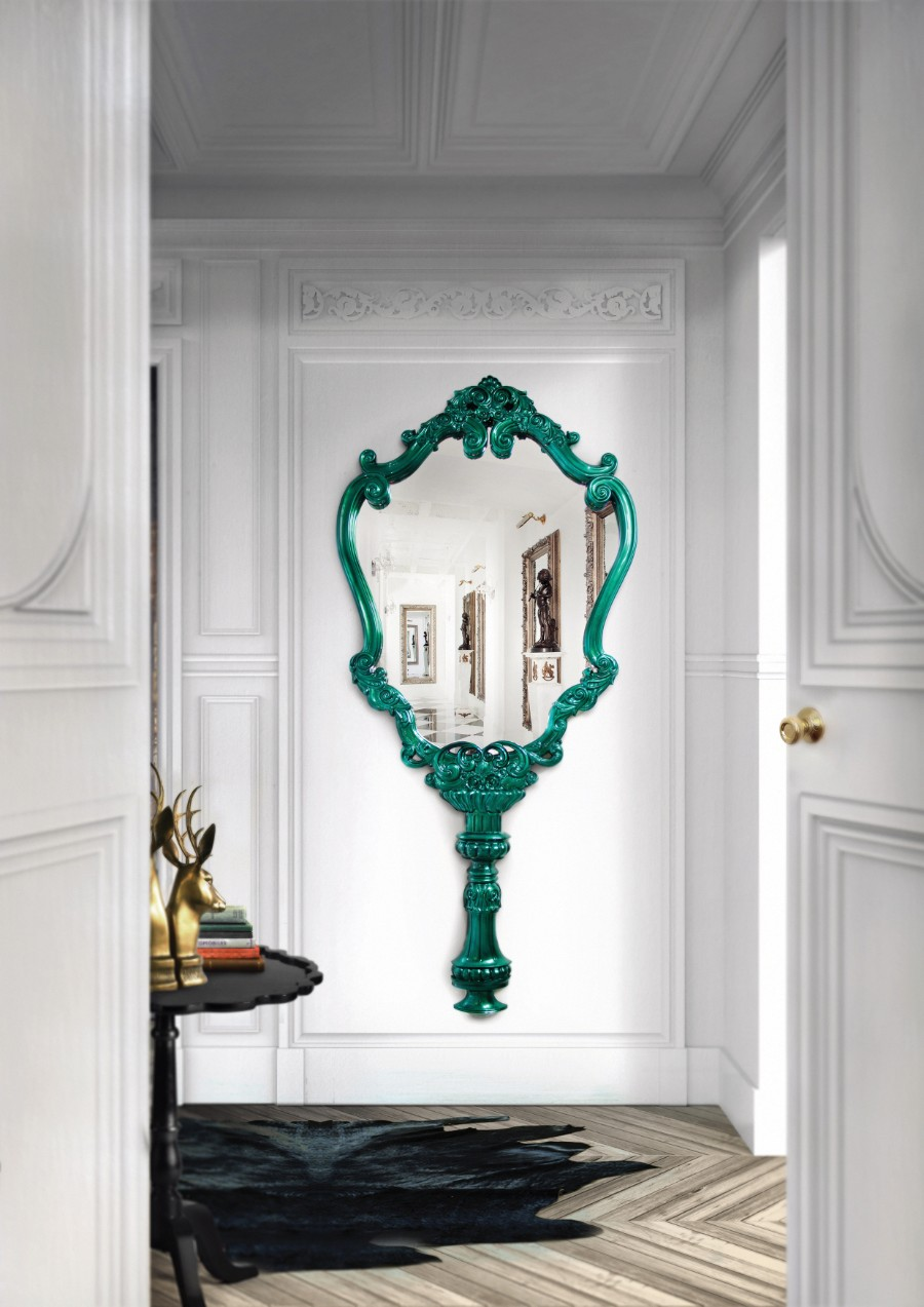 joinery The Art of Joinery Behind Boca do Lobo's Luxury Furniture  marie therese mirror limited edition boca do lobo 00