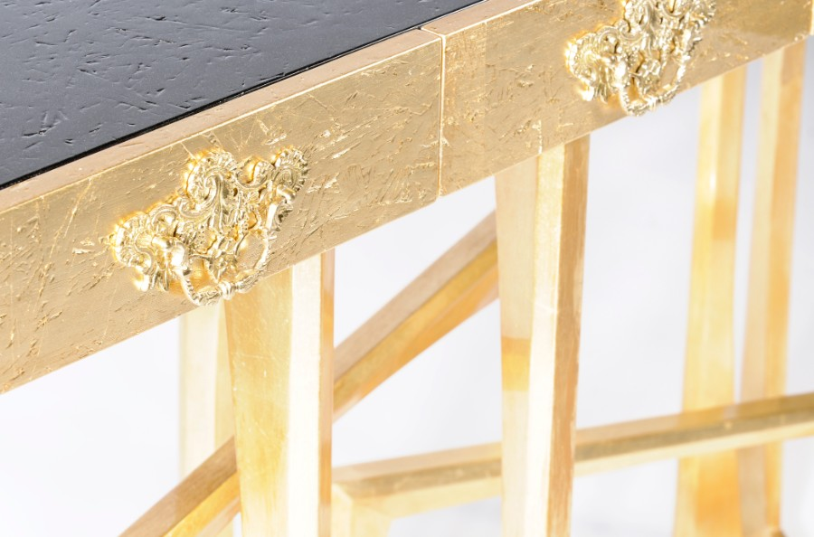 Luxury Furniture The Art of Leaf Gilding Behind Boca do Lobo's Luxury Furniture metropolis 02