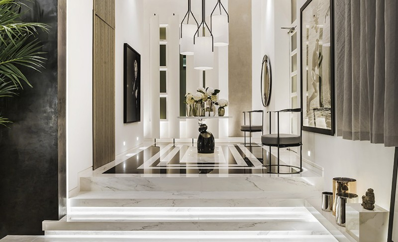 interior designer 10 Interior Designers in London You Need Know Kelly Hoppen Couture Entrance london design festival London Design Festival Guide: An Exclusive Selection for Interior Designers Kelly Hoppen Couture Entrance