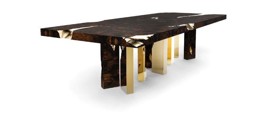 metal work The Art of Metalworking Behind Boca do Lobo's Luxury Furniture empire dining 03