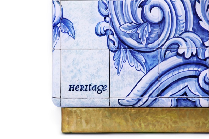 heritage, Portuguese history, Azulejos, art forms, hand-painted tiles, Limited Edition, luxury furniture, fine art, tiles, decor piece, artisans, craftsmen,  heritage Heritage Series: A Modern Art Saved from The Past heritage 04