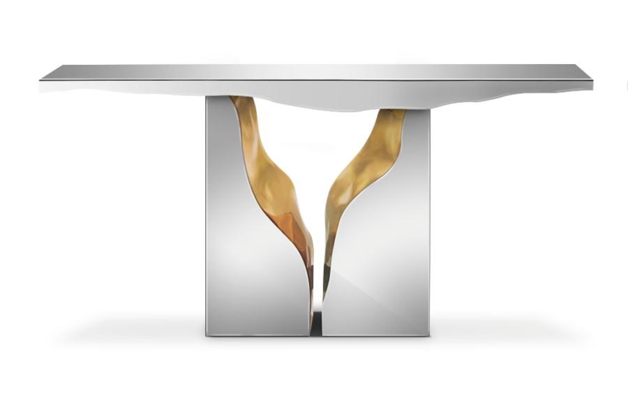 metal work The Art of Metalworking Behind Boca do Lobo's Luxury Furniture lapiaz console 01