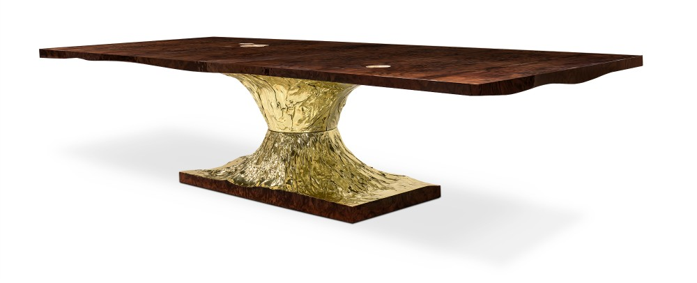 decorex A Design Affair By Boca Do Lobo & Rug'Society at Decorex metamorphosis dining table 02 hr