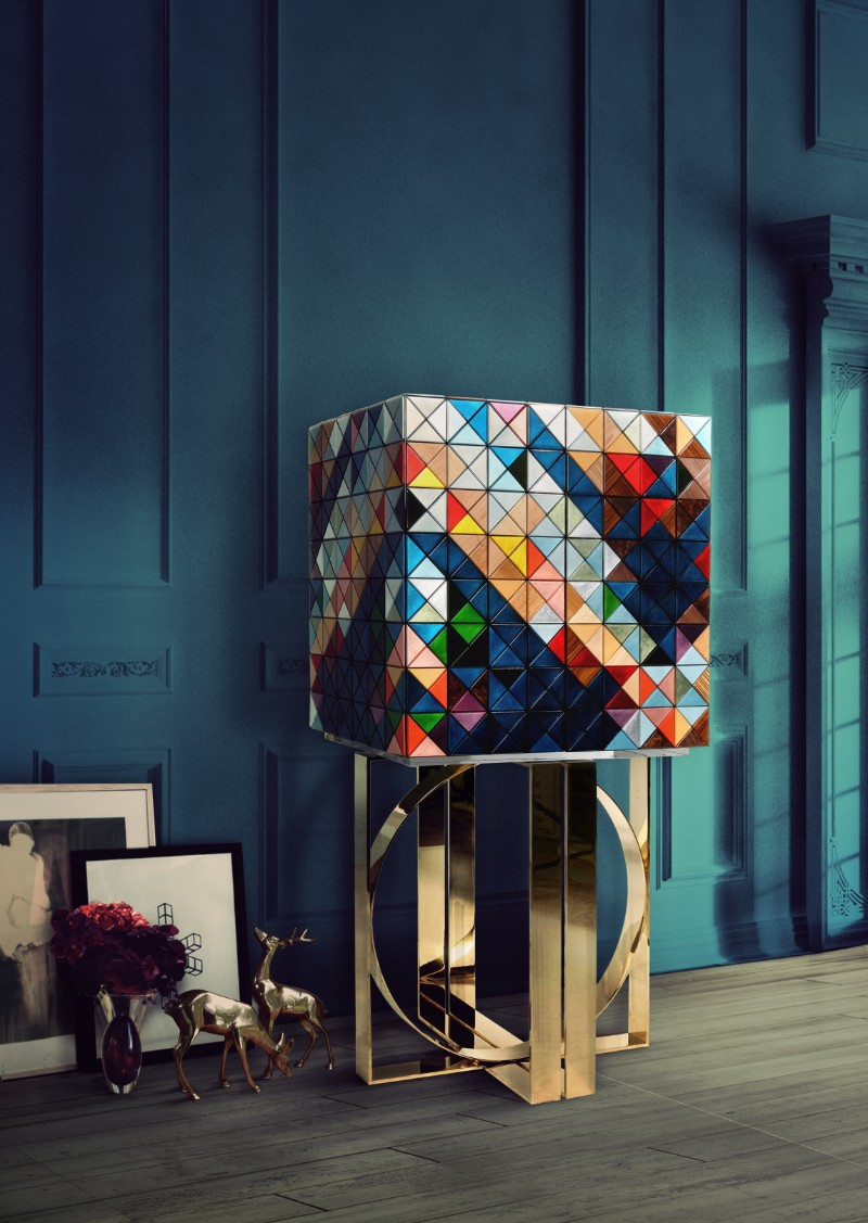 The Playful Side of Design With Pixel by Boca do Lobo Design Pixel Cabinet: A Statement Design Reveals A Playful Side By Boca do Lobo 1 pixel cabinet