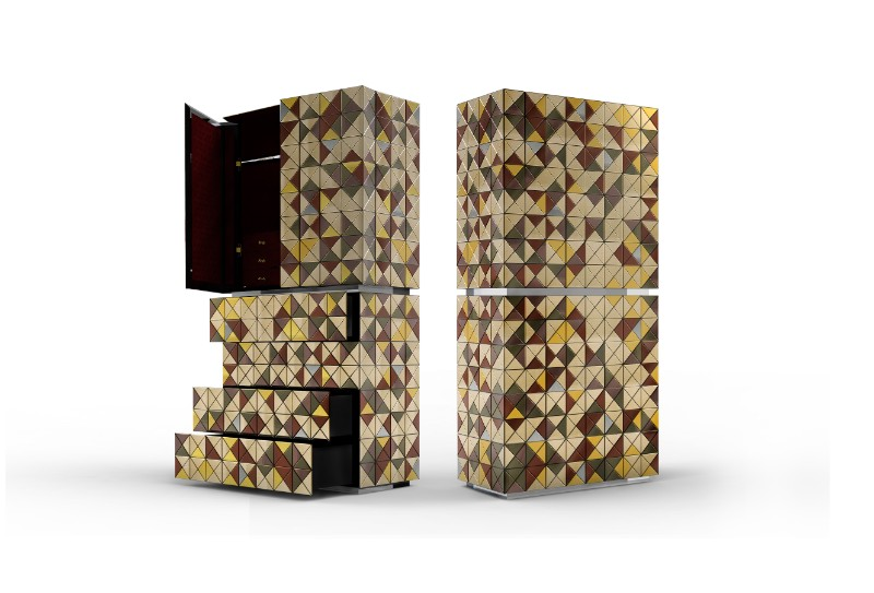 Design Pixel Cabinet: A Statement Design Reveals A Playful Side By Boca do Lobo 8 pixel cabinet