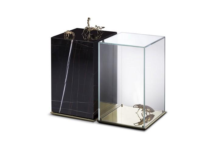 luxury furniture Luxury Furniture: Discover Metamorphosis Series Iconic Pieces metamorphosis side table 02