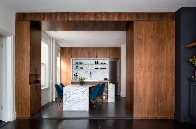 A Unique Aesthetic by Attn Attn on a Contemporary Home in Lenox Hill