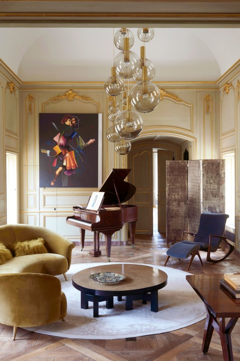 A 16th Century Chateau Transformed Into A Contemporary Luxury Home luxury home Didier Benderli Transforms A 16th Century Chateau into a Luxury Home 2 A Modern Update On A 16th Century French Chateau