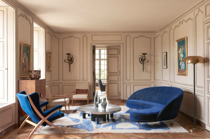 A 16th Century Chateau Transformed Into A Contemporary Luxury Home luxury home Didier Benderli Transforms A 16th Century Chateau into a Luxury Home 3 A Modern Update On A 16th Century French Chateau