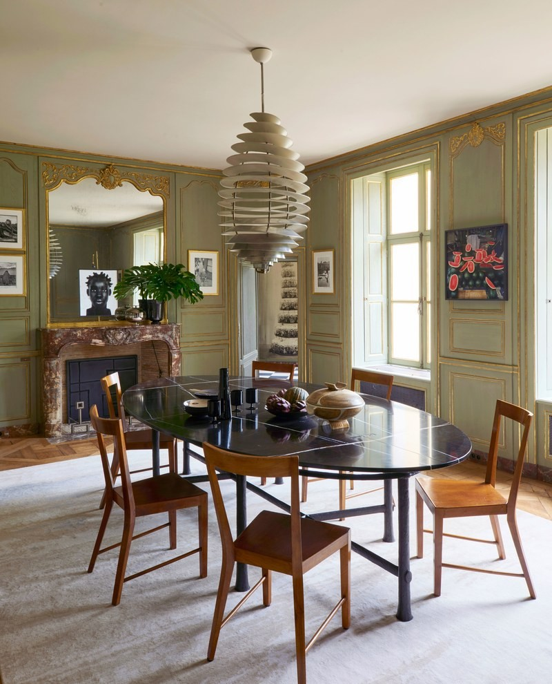 A 16th Century Chateau Transformed Into A Contemporary Luxury Home luxury home Didier Benderli Transforms A 16th Century Chateau into a Luxury Home 5 A Modern Update On A 16th Century French Chateau