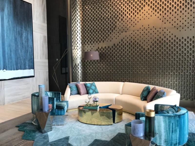 Hba An Amazing Interior Design Concept At The Trump Tower By HBA 8 An  Amazing Interior