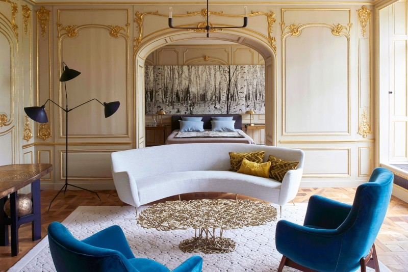 luxury home Didier Benderli Transforms A 16th Century Chateau into a Luxury Home 9 A Modern Update On A 16th Century French Chateau