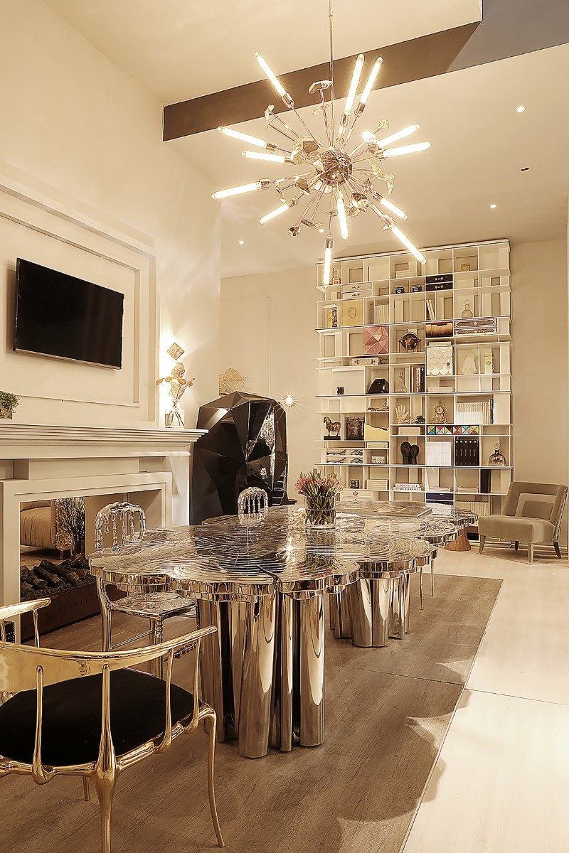 contemporary design Fortuna: Rewrites the Fate of Contemporary Design Fortuna Dining Table 5