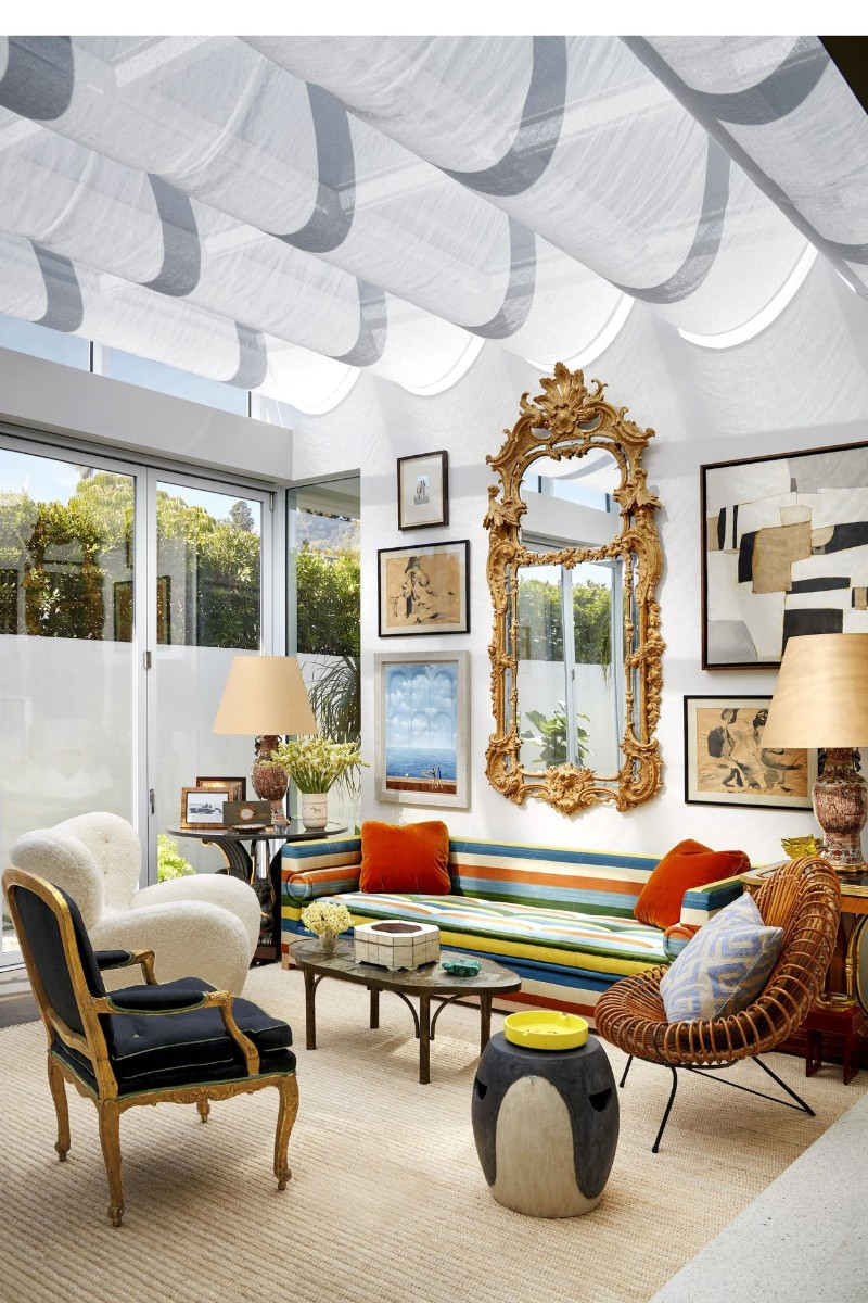 A Beverly Hills Home Changes Up The Look From Antique To