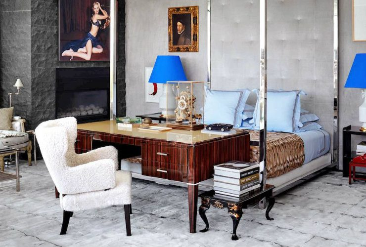 A Beverly Hills Home Goes From Antique Accents To A Contemporary Decor. Interior  Designer ...
