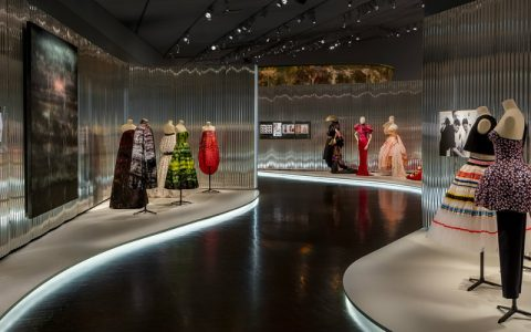 dior Denver Art Museum Welcomes Dior Exhibition Designed by OMA featured 4 480x300