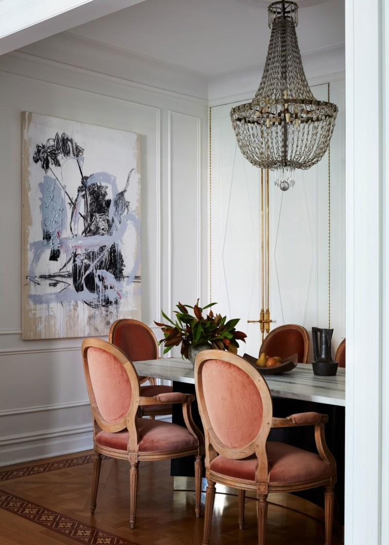 A Sophisticated Touch of Parisian Decor Inside A New York ...