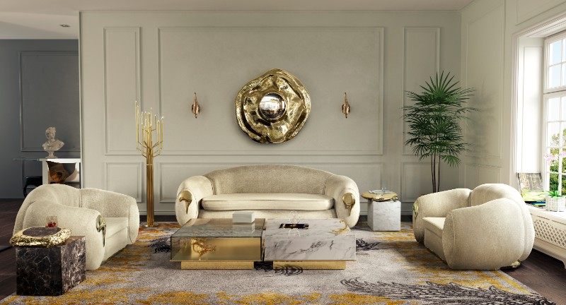 Luxury Home: Living Room Decor 2019 Trends