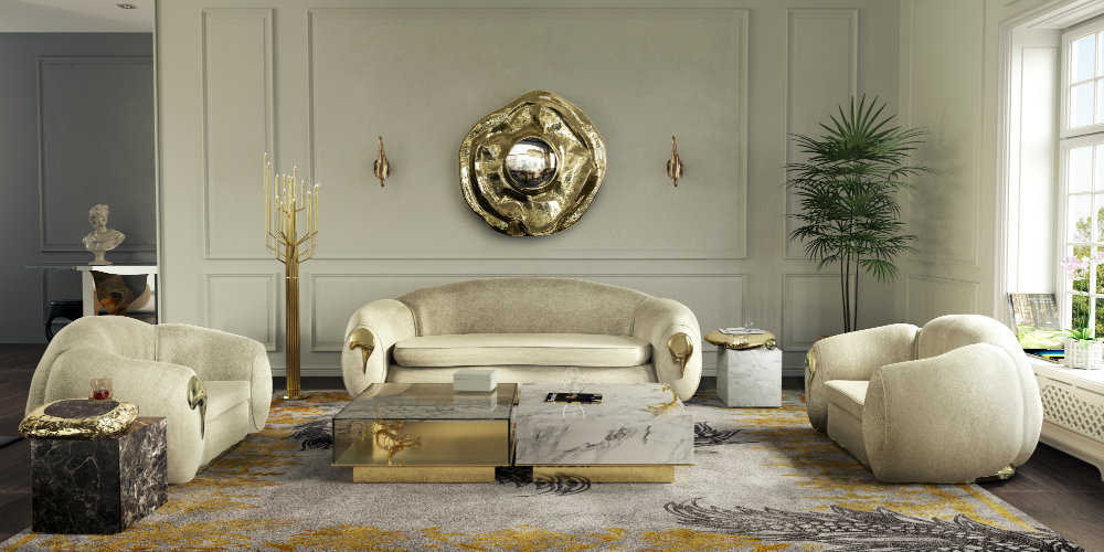Luxury Home: Living Room Decor 2019 Trends
