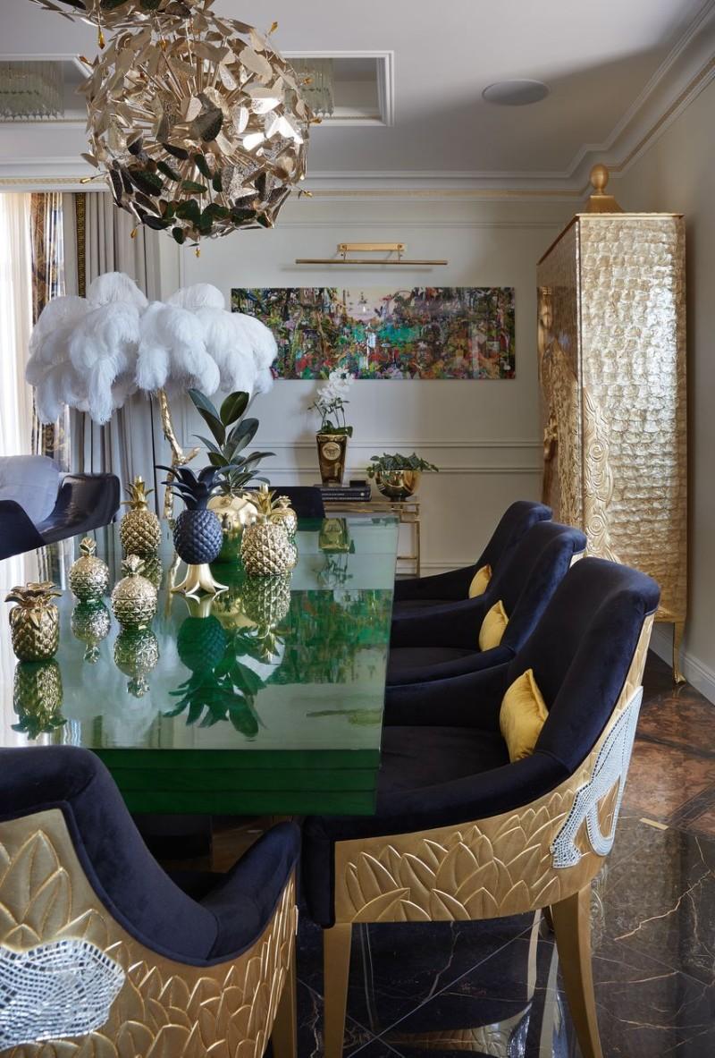 A Flaming Interior Design by Tatyana Myronova